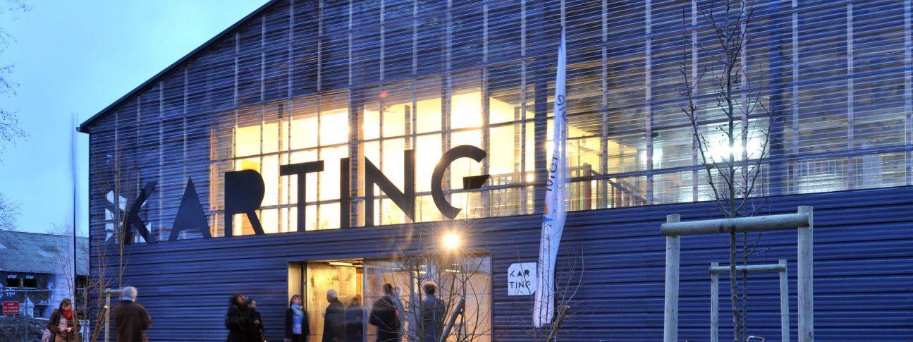 Le Karting, hôtel d'entreprises sur l'île de Nantes.