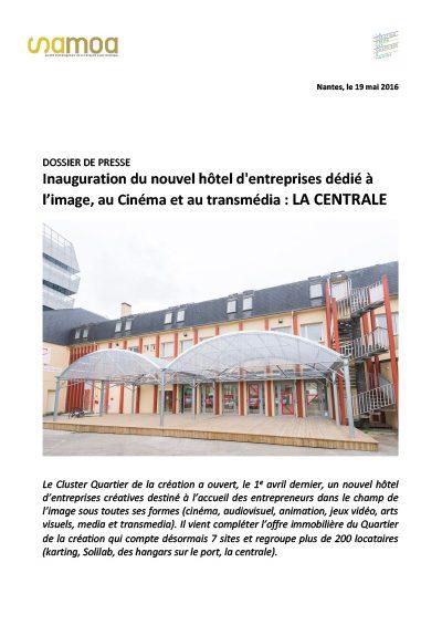 couverture centrale 400x565 - Inauguration La Centrale