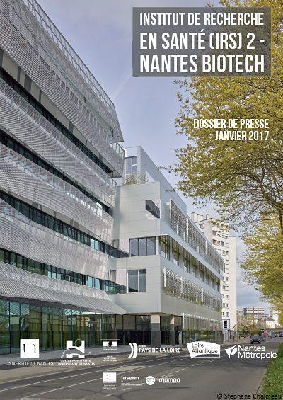 dp biotech 400x565 - Inauguration Institut de recherche en santé 2 et Nantes Biotech