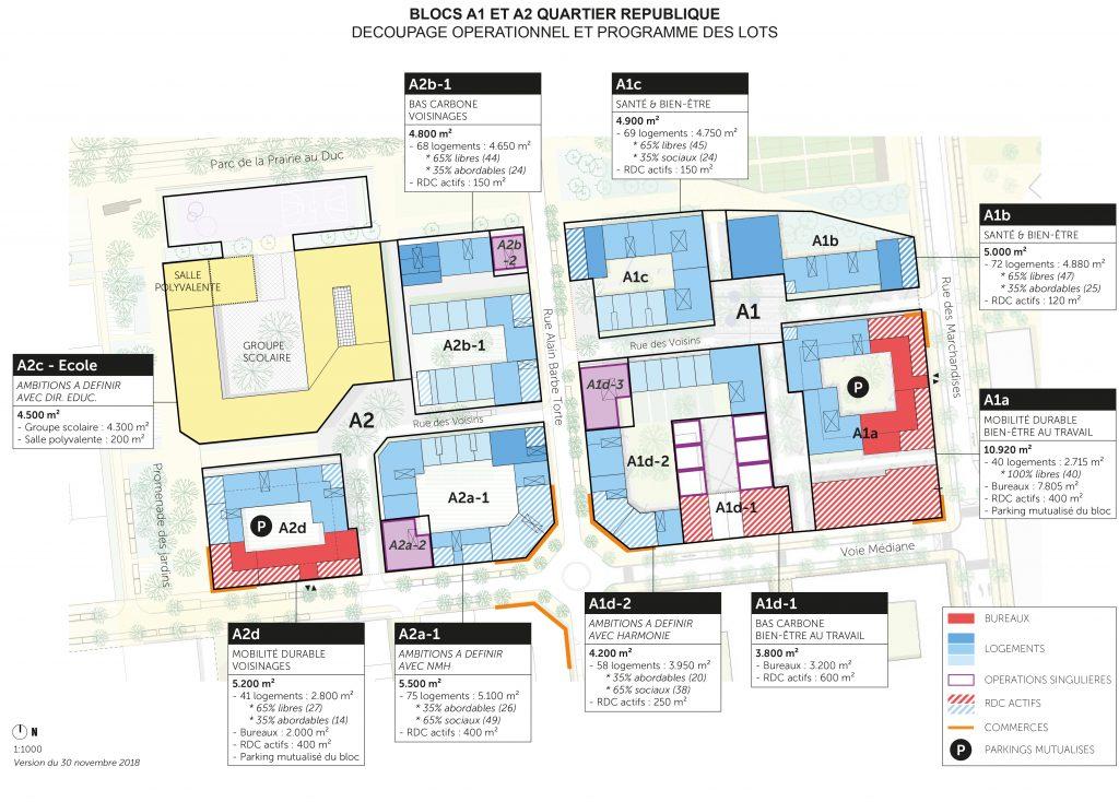 4 les deux premiers blocs dont la livraison est prevue en 2023 samoa ajoa schorter 1 1024x734 - Le nouveau quartier République se dessine