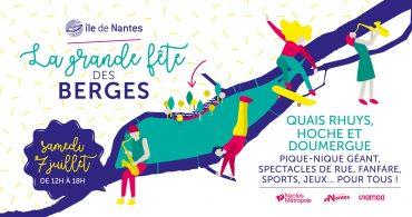 Grande fete des berges 2018 ile de nantes 370x195 - La Grande fête des berges : pique-nique géant et nombreuses animations samedi 7 juillet