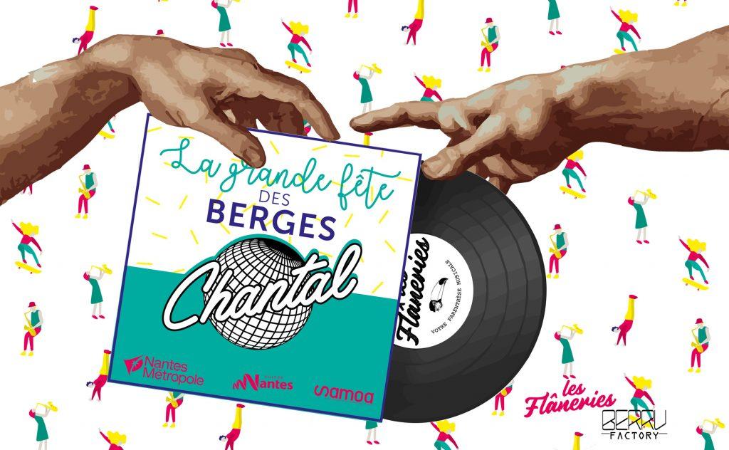 visuel berges les flaneries dj set chantal 1024x632 - La Grande fête des berges : pique-nique géant et nombreuses animations samedi 7 juillet