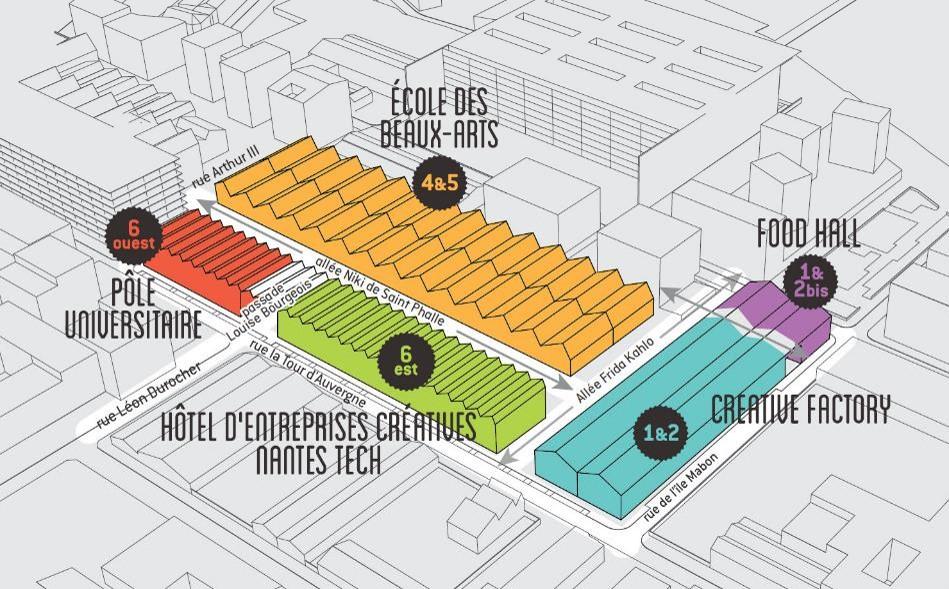 Les Halles ile de Nantes Plan de situation mars2019 - Les-Halles-ile-de-Nantes_Plan-de-situation_mars2019