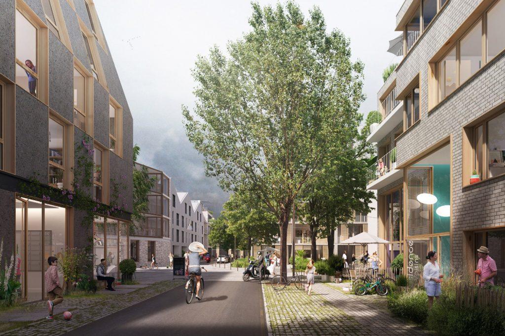 Nouveau quartier Republique ile de Nantes 1024x683 - Les grands projets et chantiers de l'île de Nantes