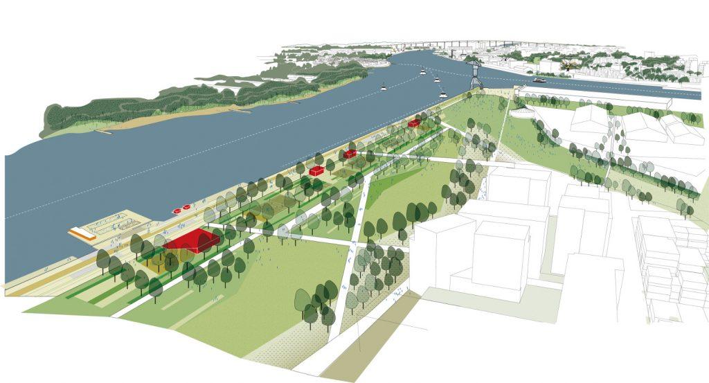 Parc de Loire metropolitain ile de Nantes 1024x553 - Les grands projets et chantiers de l'île de Nantes