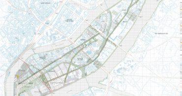 Plan des intentions de l'île de Nantes