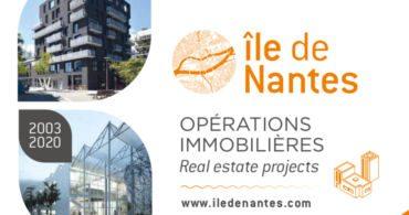 Plaquette de l'immobilier sur l'île de Nantes