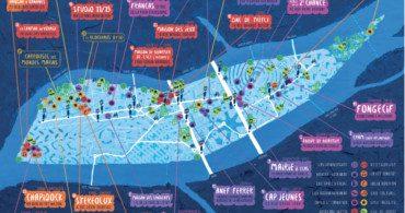 Cartographie poyur les jeunes de l'île de Nantes