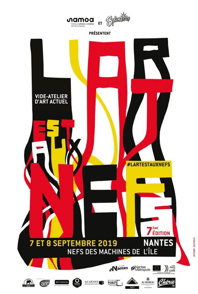 affiche LARTESTAUXNEFS2019 688x1024 - L'Art est aux Nefs : 90 artistes et créateurs attendus