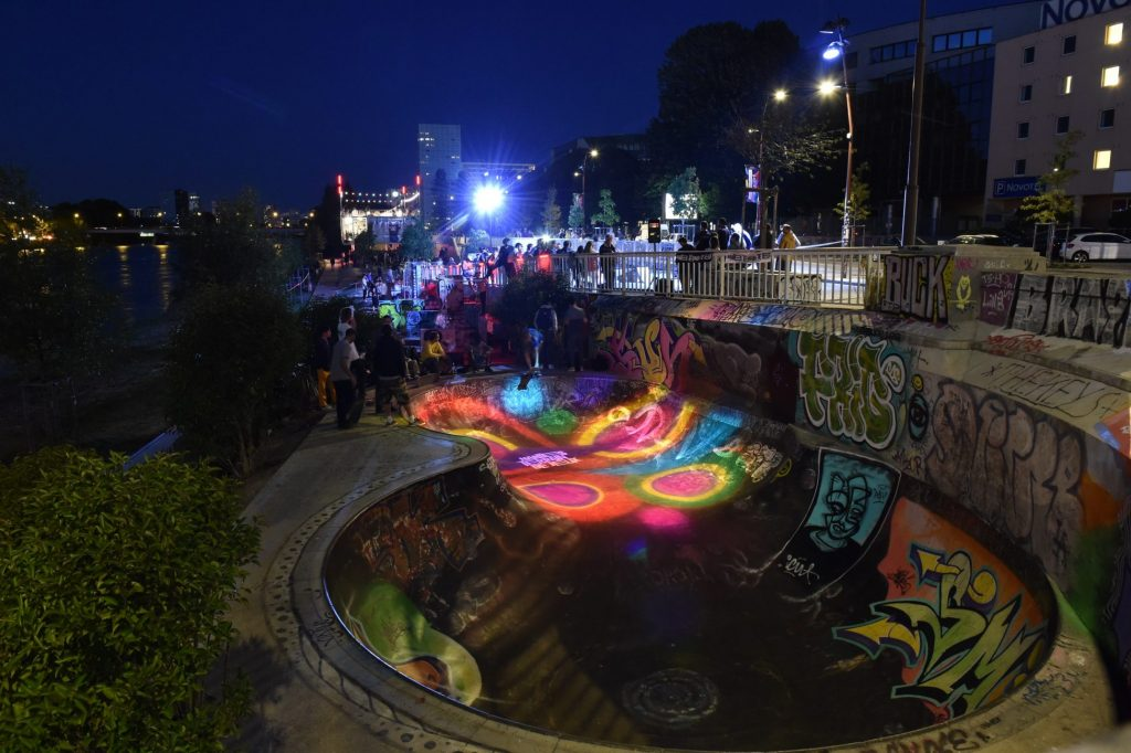 Skate park. Bd Gaston Doumergue. Nantes Loire Atlantique 09 2019 © Jean Dominique Billaud Samoa1 1024x682 - Les pratiques sportives mises en lumière sur le quai Doumergue