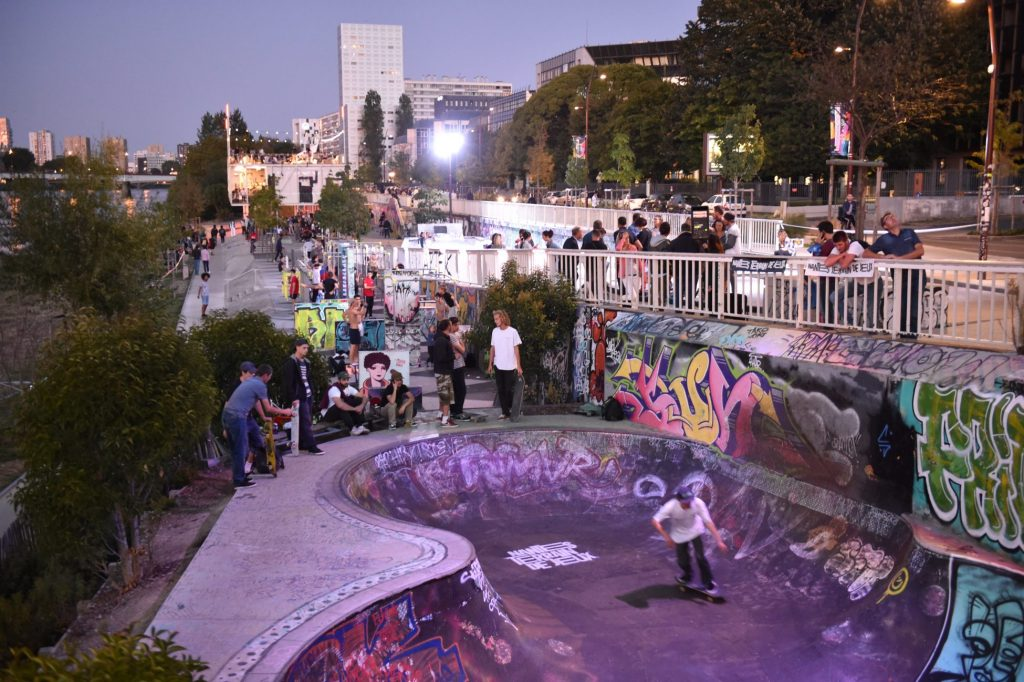 Skate park. Bd Gaston Doumergue. Nantes Loire Atlantique 09 2019 © Jean Dominique Billaud Samoa5 1024x682 - Les pratiques sportives mises en lumière sur le quai Doumergue