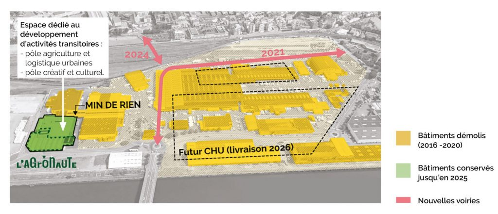 plan occupations transitoires v2 1024x441 - Déconstruction de l'ancien MIN : où comment faire du neuf avec de l'ancien ?