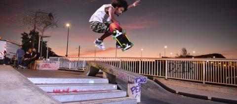 Test lumière. Skate park. Bd Gaston Doumergue. Nantes Loire Atlantique 09 2019 © Jean Dominique Billaud Samoa 480x210 - Éclairage connecté d'un site de sports urbains