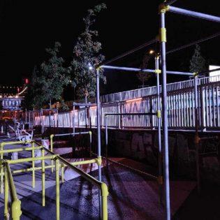 Test lumière. Skate park. Bd Gaston Doumergue. Nantes Loire Atlantique 09 2019 © Samoa 315x315 - Éclairage connecté d'un site de sports urbains