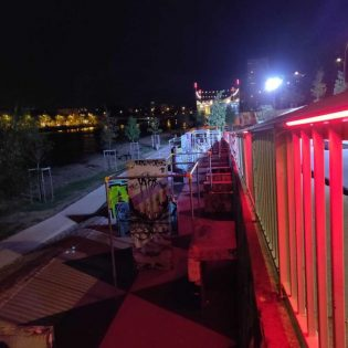 Test lumière. Skate park. Bd Gaston Doumergue. Nantes Loire Atlantique 09 2019 © Samoa1 315x315 - Éclairage connecté d'un site de sports urbains