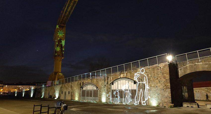 TourMedia Videomapping scaled 850x460 - Vidéo mapping – Nantes, ville lumière et expérimentale