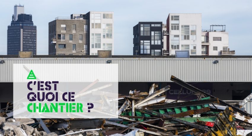Démolition de l'ancien MIN. Nantes