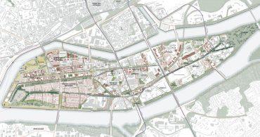 Plan des intentions projet urbain - Manifeste Durable île de Nantes (2020)