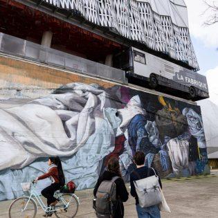 Le Mur Nantes. 02/2021 © Franck Badaire / Samoa