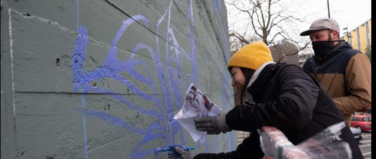 Le Mur Nantes par l'association Plus de Couleurs ©elohize.digi