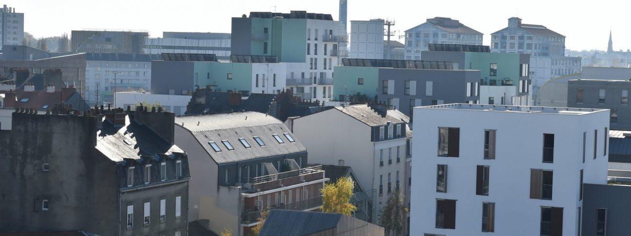 Quartier République sur l'île de Nantes