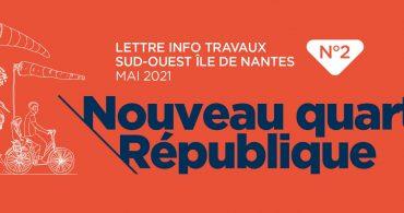 Lettre info travaux numéro 2 Samoa ile de Nantes Mai 2021