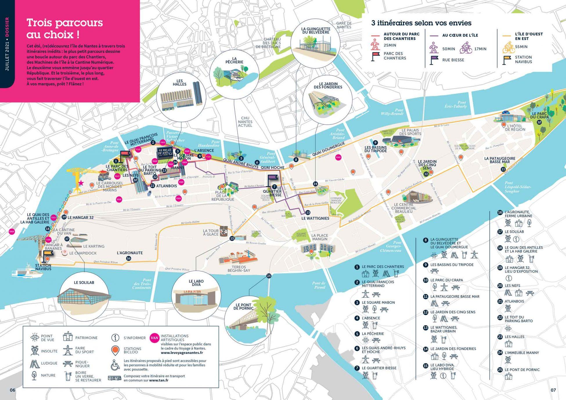 TransformationsMagazine27 Juillet2021 CartoParcours WEB light.2jpg scaled - Cet été, partez à la (re)découverte de l'île de Nantes!